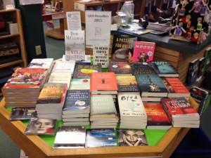 quail ridge bestsellers 2015